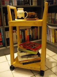 包包車與下午茶與書