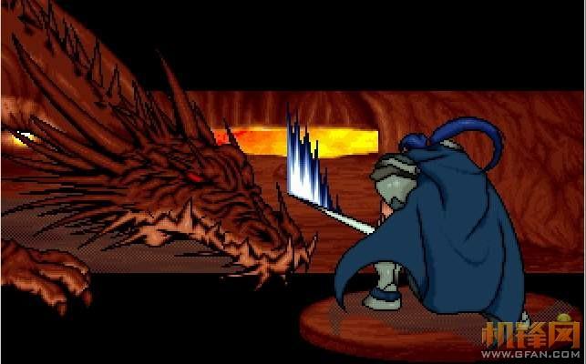 結局動畫中的索爾,看來這張圖的主人讓索爾轉劍聖了,破龍擊是蠻帥的。