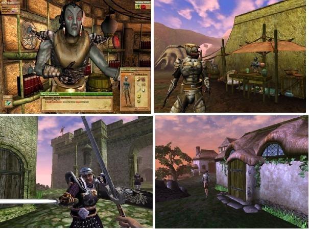 遊戲內建的人物模組都超醜的,但風景漂亮得沒話說