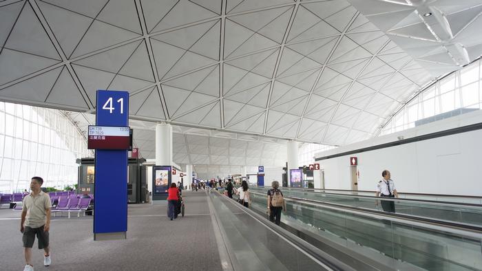 香港的赤臘角國際機場